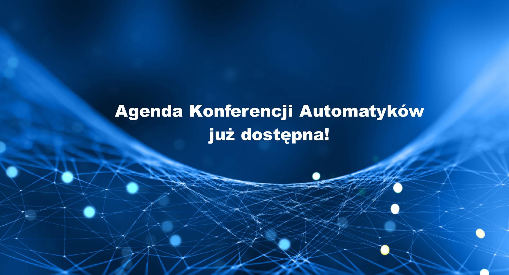 Agenda Konferencji Automatyków